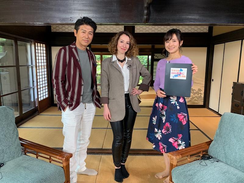 BSテレビ東京「ワタシが日本に住む理由」で放送されました!